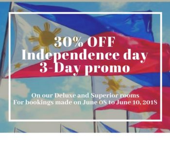 Independence Day – 3 Day Promo